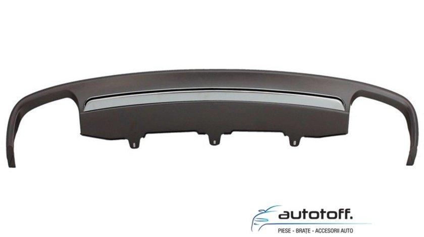 Difuzor bara spate si ornamente evacuare Audi A6 4G C7 (2011-2014) S6 Design