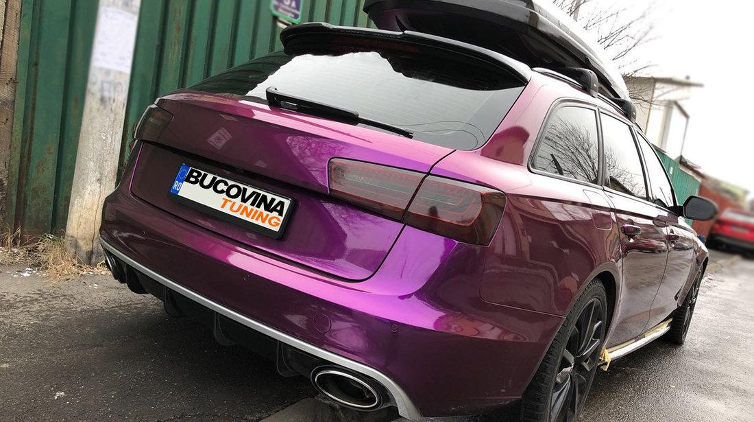 Difuzor bara spate si ornamente evacuare Audi A6 4G C7 (11-14) RS6 Design