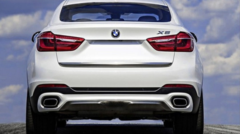Difuzor bara spate si Ornamente evacuare BMW X6 F16 V8