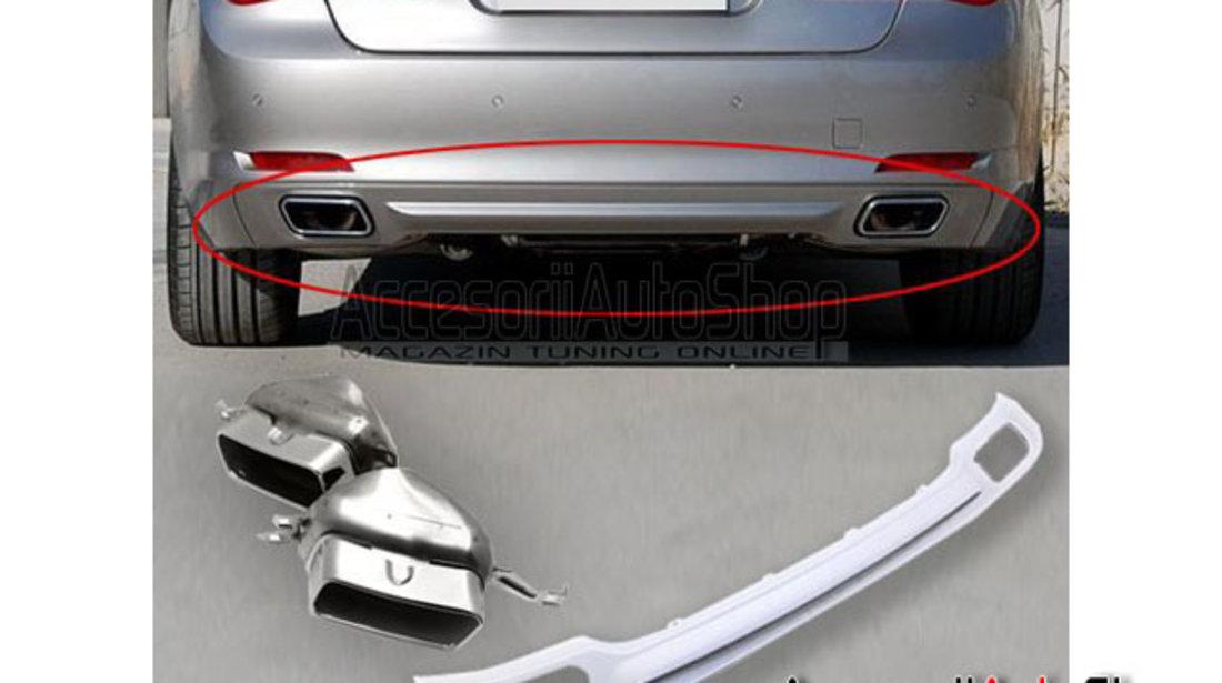 Difuzor Bara spate si ornamente toba BMW Seria 7 F01