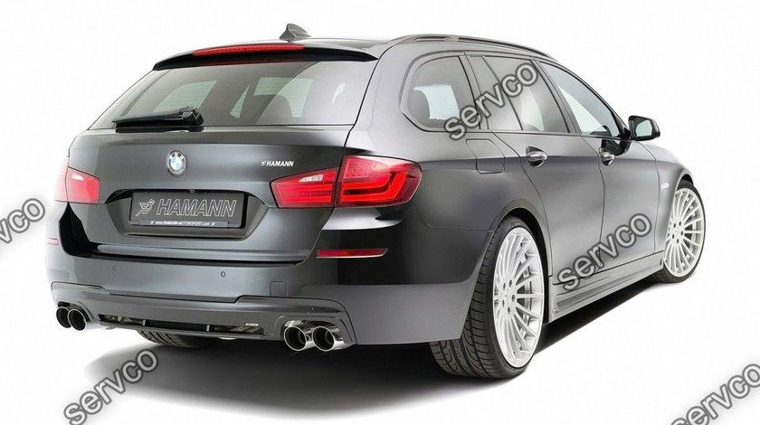 Difuzor bara spate tuning spoiler sport  BMW F10 F11 Seria 5 Hamann Mpack Aero 2011-2016 v2