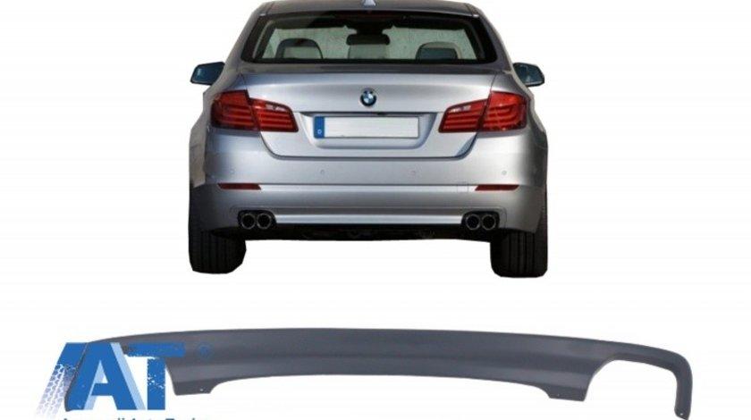 Difuzor de aer cu evacuare dubla compatibil cu BMW F10 Seria 5 (2011-2017) 550I Design
