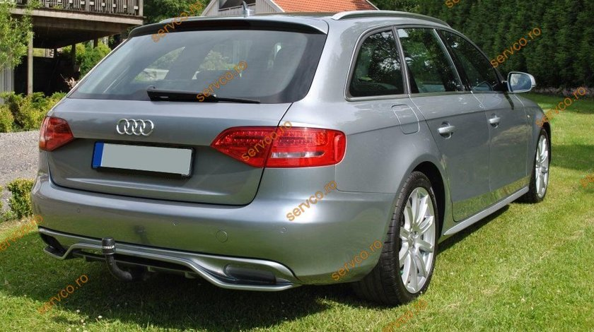 Difuzor evacuare Audi A4 B8 8K ABT AB Look S4 RS4 Sline ver1