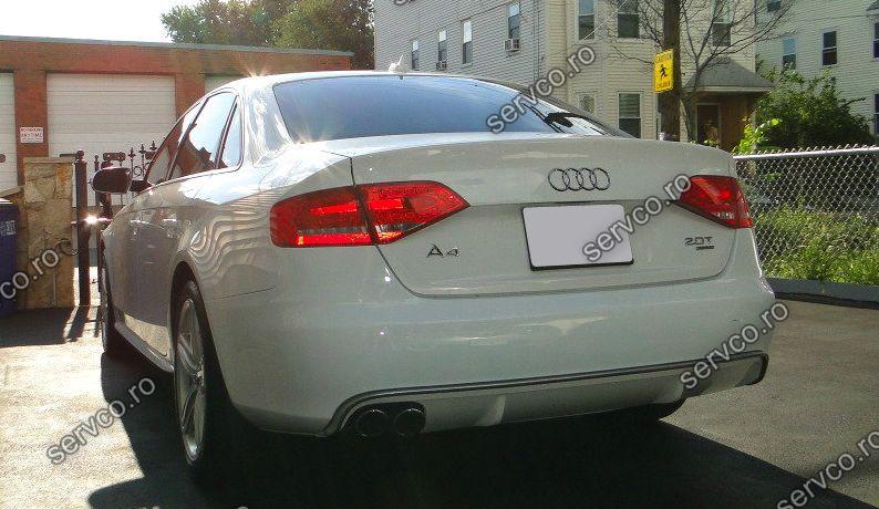 Difuzor evacuare bara spate Audi A4 B8 8K S4 RS4 S line ver2