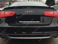 difuzor evacuare bara spate Audi A6 4G C7 S line ABT Sline Sedan ver1