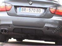 Difuzor evacuare prelungire spoiler bara spate BMW E90 E91 M3 320 pt bara pachet M ver1