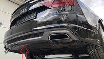 Difuzor extensie  buza bara spate Audi A7 4G8 Face...