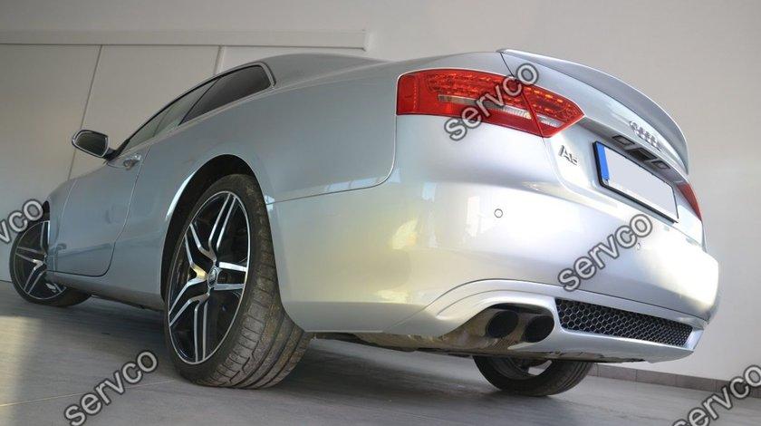 Difuzor fusta splitter bara spate audi A5 8T Coupe Sline S5 Rs5 2007-2011 v3