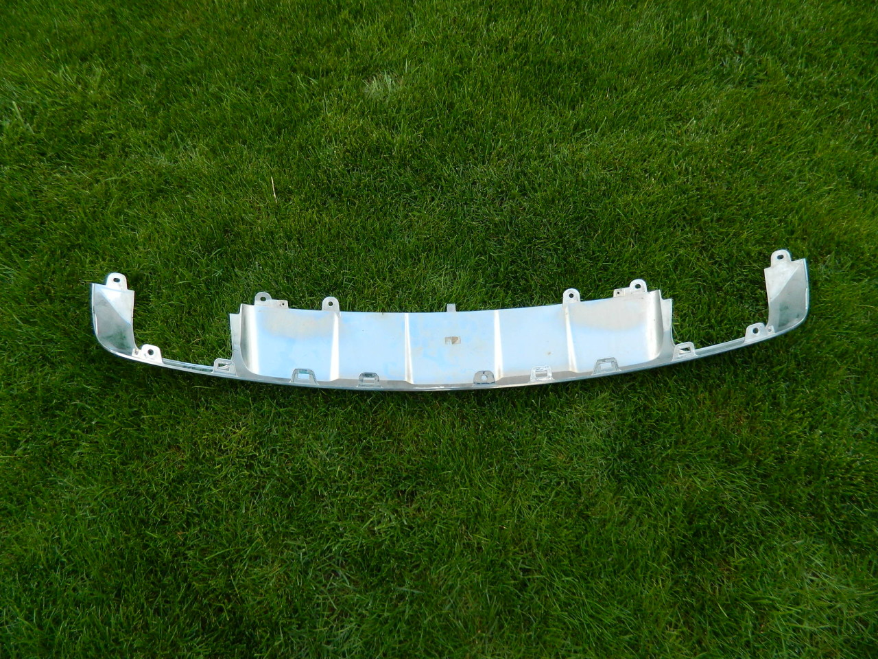Difuzor Ornament crom bara spate Mercedes GLK  X204  2008-2012 cod A2048857423