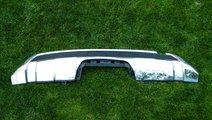 Difuzor Ornament crom bara spate Mercedes W166 AMG...