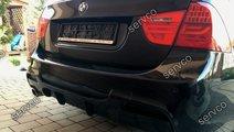 Difuzor ornament extensie bara spate BMW E90 E91 p...