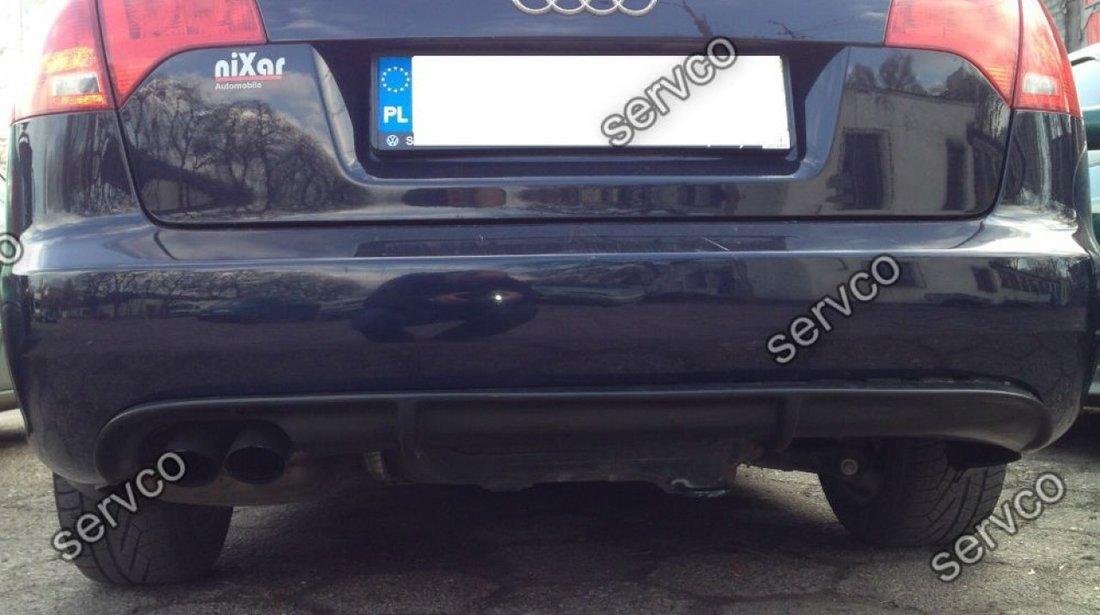 Difuzor prelungire bara spate Audi A4 B7 RS Avant 2005-2007 v1