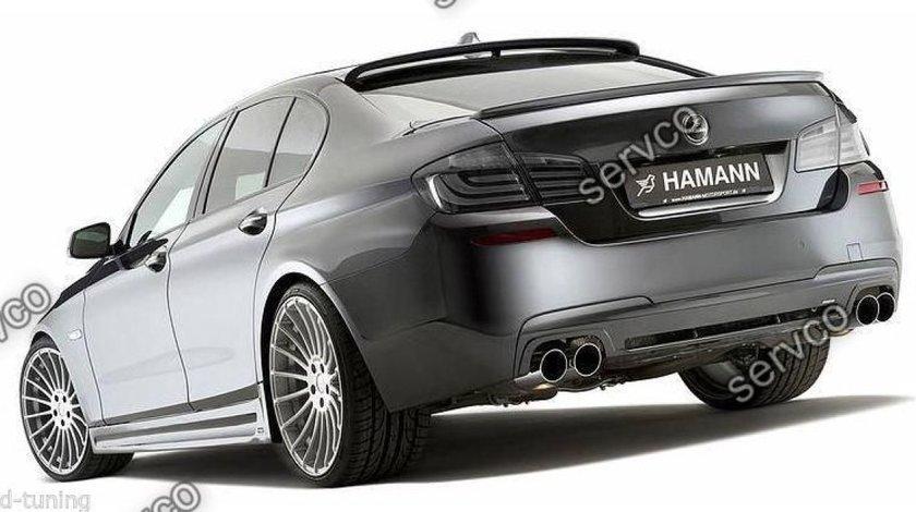 Difuzor prelungire bara spate tuning sport  BMW F10 F11 Seria 5 Hamann Mpack Aero Performance v2