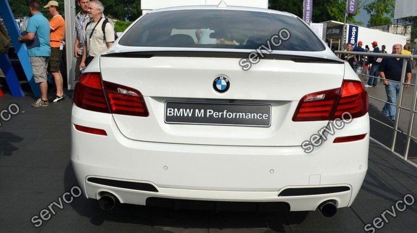 Difuzor prelungire bara spate tuning sport M Pachet Mpack M Performance BMW F10 F11 v1