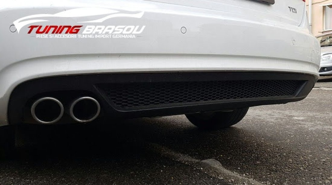 Difuzor prelungire spoiler bara spate AUDI A4 B8 2012 - 2015 Facelift S-line S line Sline S4