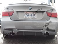 Difuzor prelungire spoiler bara spate BMW E90 E91 M3 335 xi pt bara pachet M ver2