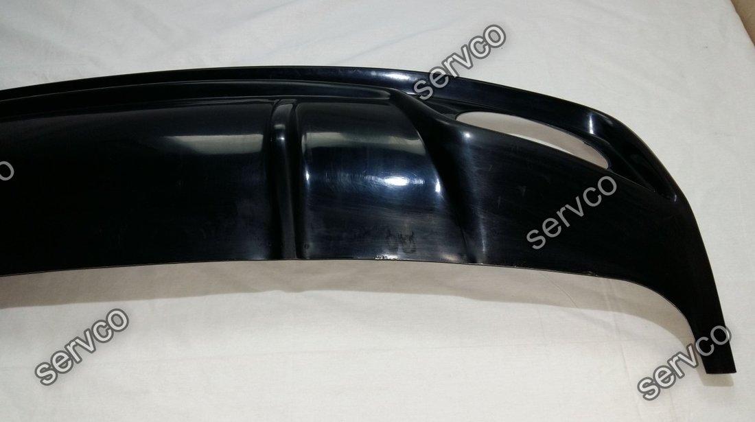 Difuzor prelungire tuning sport bara spate AUDI A4 B8 Sline Rieger Facelift Rs4 2012-2015 v2