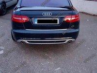 Difuzor S LIne Audi A6 4F C6 Facelift ver1