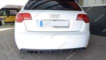 Difuzor spoiler difuzor bara spate Audi A3 8P Spor...