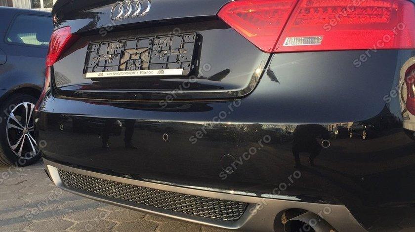 Difuzor spoiler prelungire bara spate Audi A5 Sportback Facelit