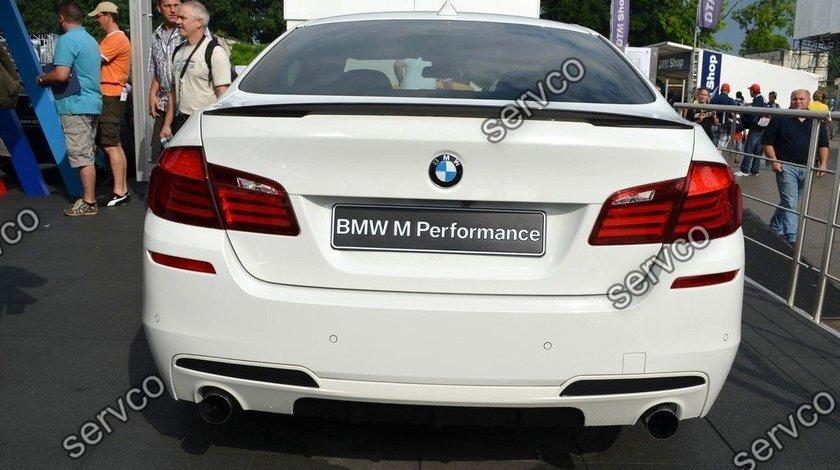 Difuzor spoiler tuning sport bara spate M Pachet Mpack M Performance BMW F10 F11 ver1