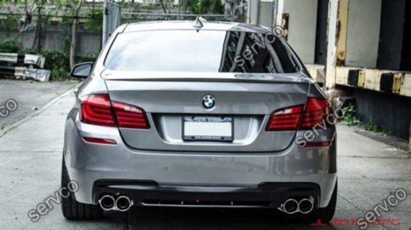 Difuzor spoiler tuning sport BMW F10 F11 Seria 5 Hamann Mpack Aero Performance 2011-2016 ver2