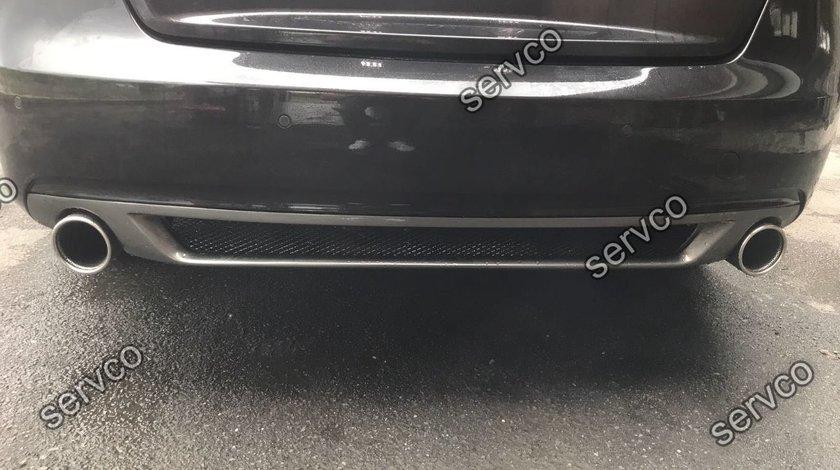 Difuzor spoiler tuning sport prelungire bara spate Audi A5 Sportback Facelit ver1