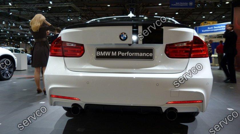 Difuzor tuning prelungire spoiler bara spate M Pachet BMW F30 F31 F35 Aerodynamic 2011-2015 v4