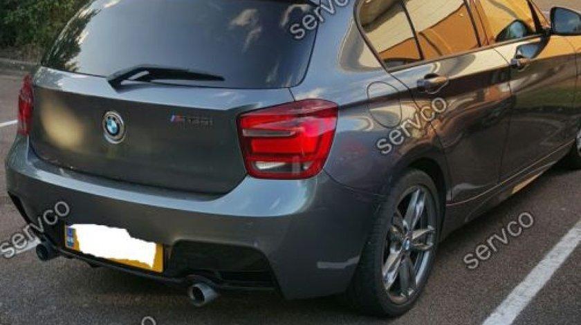 Difuzor tuning sport bara spate BMW F20 F21 Seria 1 Hamann Mpack Perfomance 2012-2018 ver1