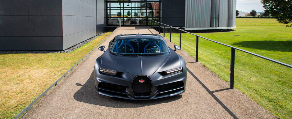Din 2016 si pana acum, Bugatti a scos pe poarta fabricii 300.000 CP. Al 200-lea CHIRON tocmai a fost asamblat