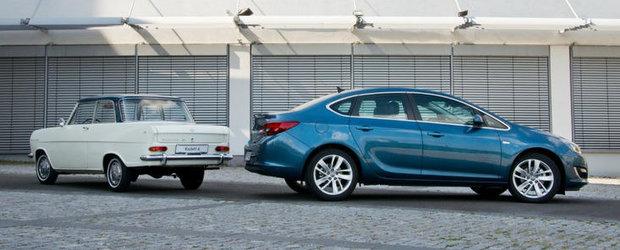 Din ce in ce mai bine: 50 de ani de sedanuri compacte Opel