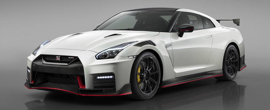 Din facelift in facelift. Nissan GT-R NISMO primeste noi imbunatatiri dar ramane cu cei 600 CP