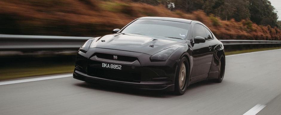 Din fata zici ca-i Nissan GT-R, dar in acte scrie altceva. FOTO ca sa te convingi si singur