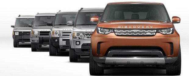 """Din seria """"Am SUV dar ma uit la consum"""", noul Land Rover Discovery ar putea veni cu un motor diesel de 2.0 litri"""