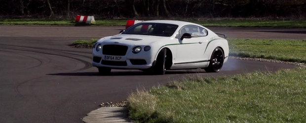 Din seria 'Ciudatenii la volan': Drifturi cu... un Bentley de 2.2 tone