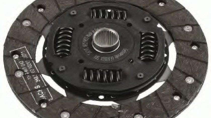 Disc ambreiaj VW GOLF III (1H1) (1991 - 1998) SACHS 1862 518 031 piesa NOUA