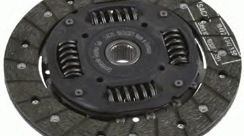 Disc ambreiaj VW GOLF III Variant (1H5) (1993 - 1999) SACHS 1862 403 031 piesa NOUA