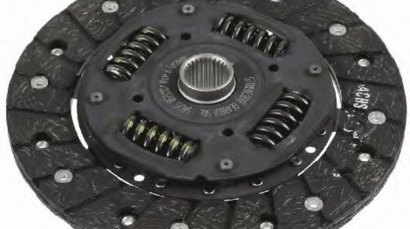 Disc ambreiaj VW GOLF IV Variant (1J5) (1999 - 2006) SACHS 1862 517 031 piesa NOUA