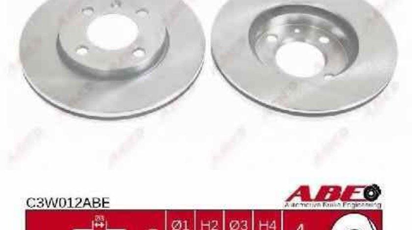 Disc frana AUDI 80 89 89Q 8A B3 ABE C3W012ABE