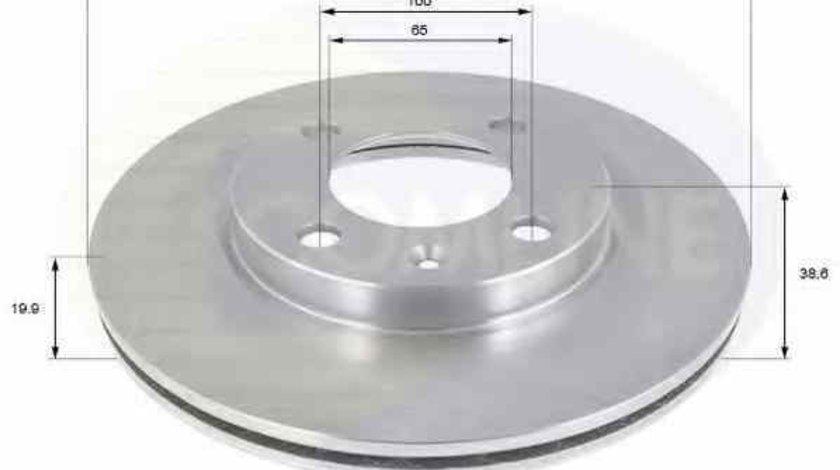 Disc frana AUDI 80 89 89Q 8A B3 COMLINE ADC1404V