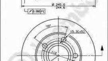 Disc frana AUDI A4 8D2 B5 BREMBO 08.8408.11