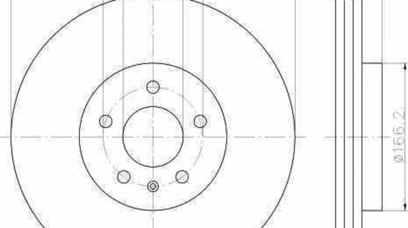 Disc frana AUDI A5 (8T3) TEXTAR 92160003