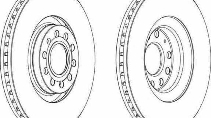 Disc frana AUDI A6 4B2 C5 FERODO DDF1705C-1