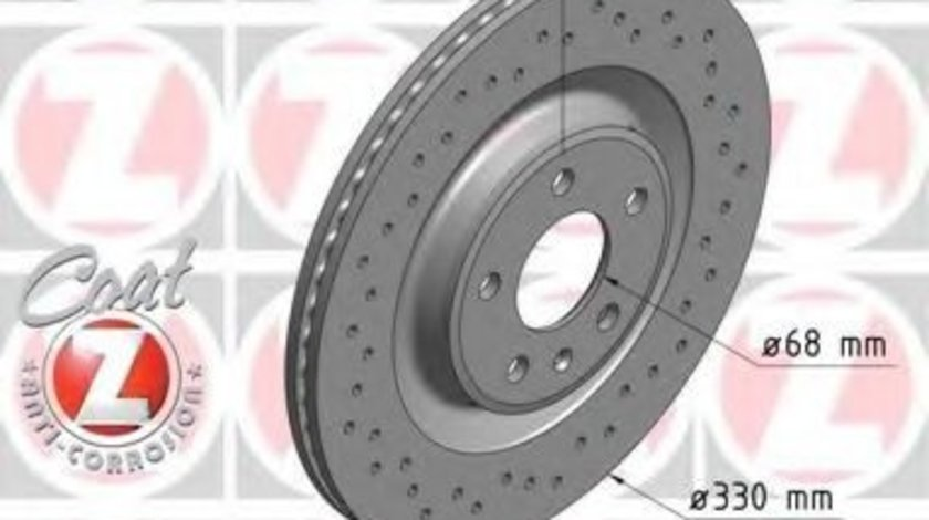 Disc frana AUDI A6 (4G2, C7, 4GC) (2010 - 2016) ZIMMERMANN 100.3358.52 piesa NOUA