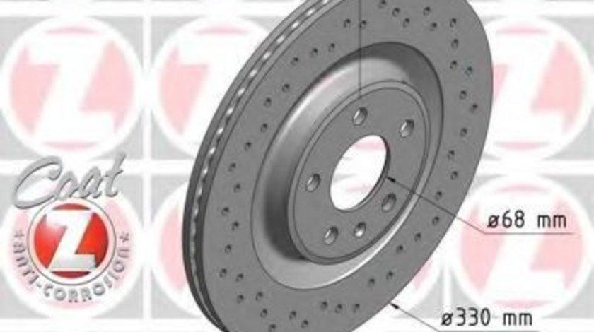 Disc frana AUDI A6 Allroad (4GH, 4GJ) (2012 - 2016) ZIMMERMANN 100.3358.52 piesa NOUA