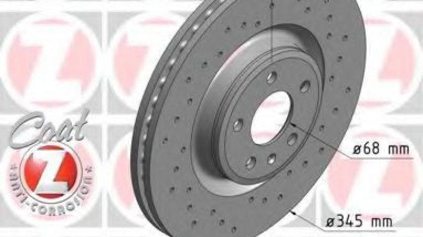 Disc frana AUDI A7 Sportback (4GA, 4GF) (2010 - 2016) ZIMMERMANN 100.3356.52 piesa NOUA