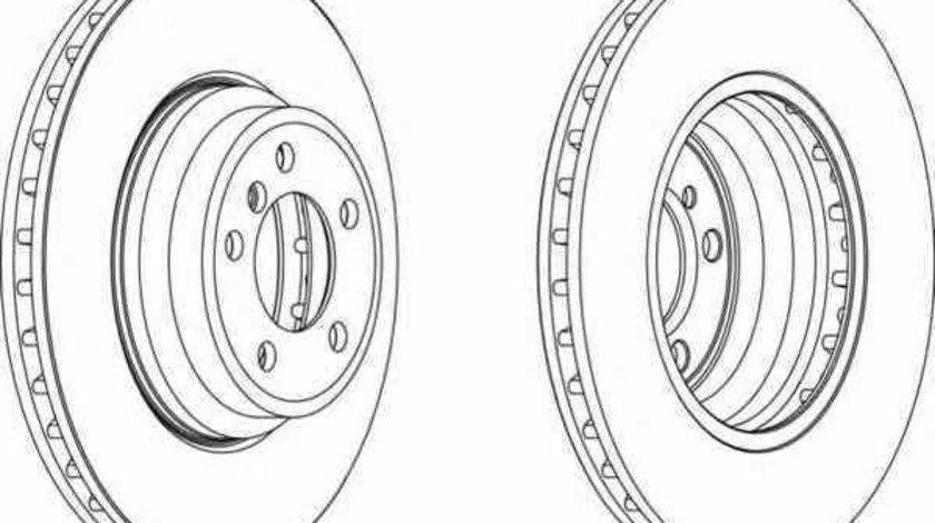 Disc frana BMW 6 E63 FERODO DDF1701C-1