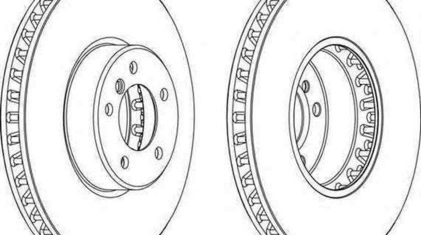 Disc frana BMW 6 E63 FERODO DDF1867C-1