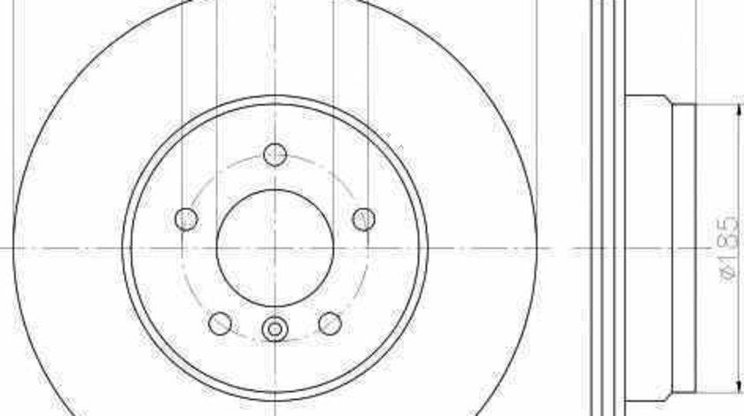 Disc frana CHEVROLET SGM BLAZER autoturism de teren inchis TEXTAR 92137903