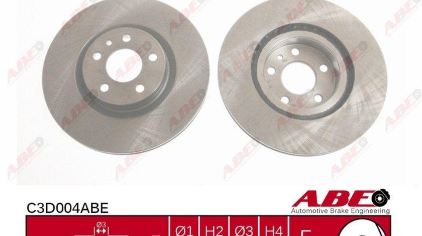 Disc frana FIAT DOBLO nadwozie wielkopojemne MPV 152 263 Producator ABE C3D004ABE